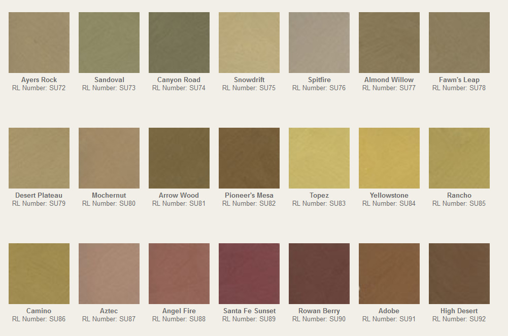 Rl Suede Paint Colors